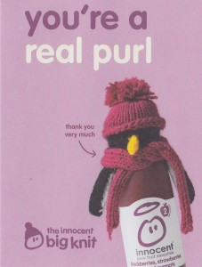 Big Knit Thank You Card