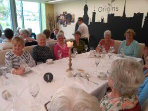 Lunch at Origins Restaurant